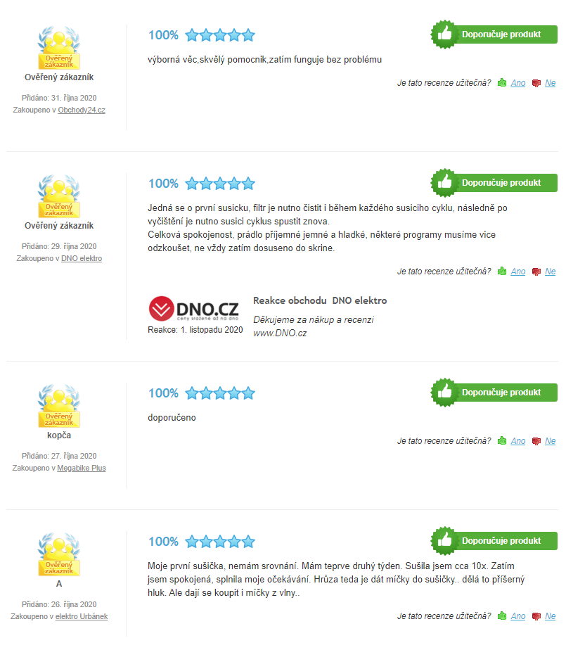 Beko DPY 8506 GXB1 - recenze zákazníků