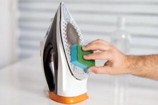 Jak vyčistit žehličku