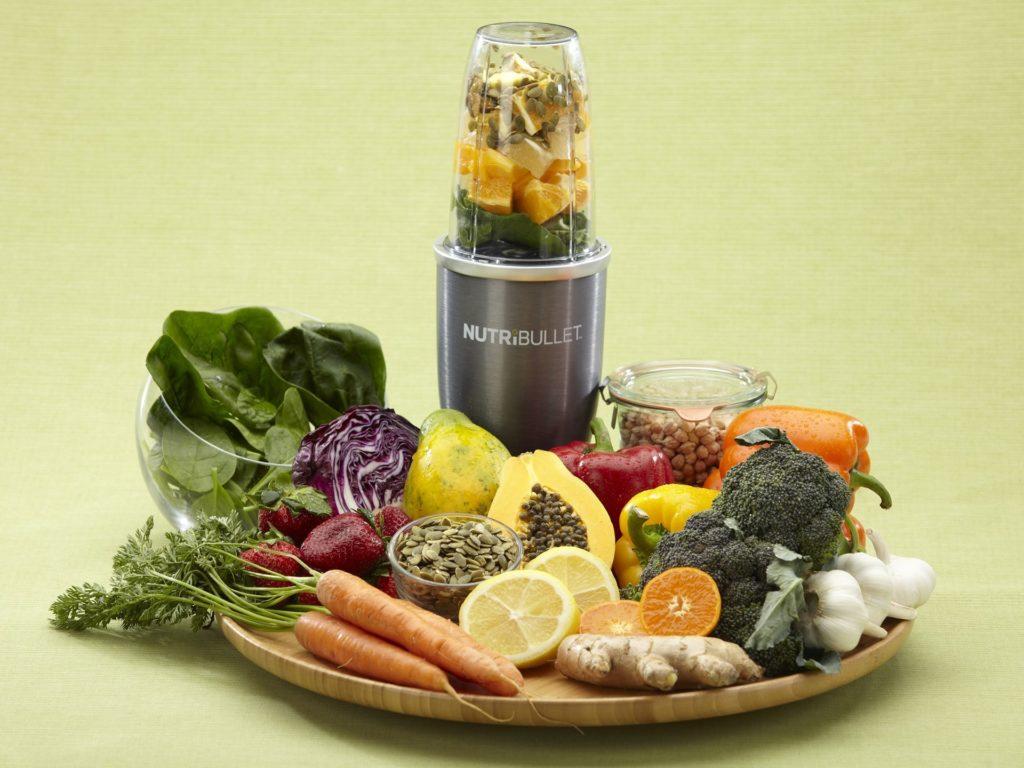 Delimano Nutribullet 600 - zelenina, ovoce