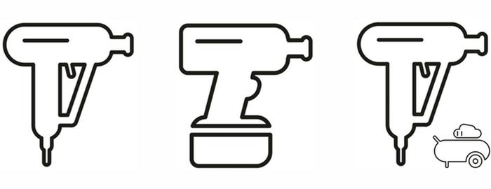 Rozdělení rázových utahováků - elektrické, aku, pneumatické