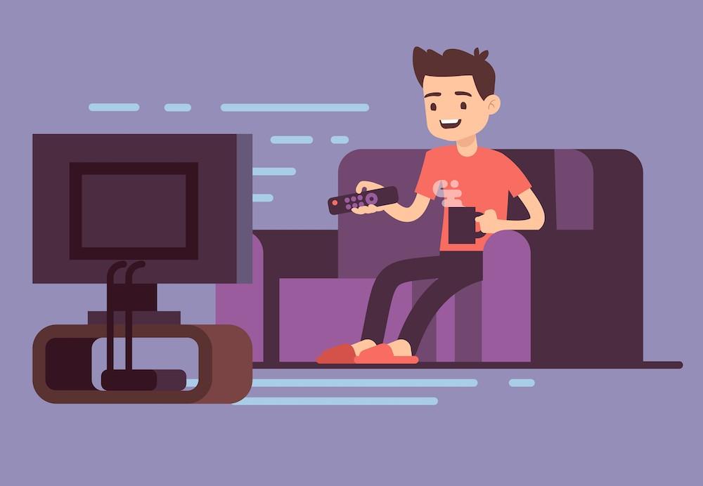 umístění televizoru