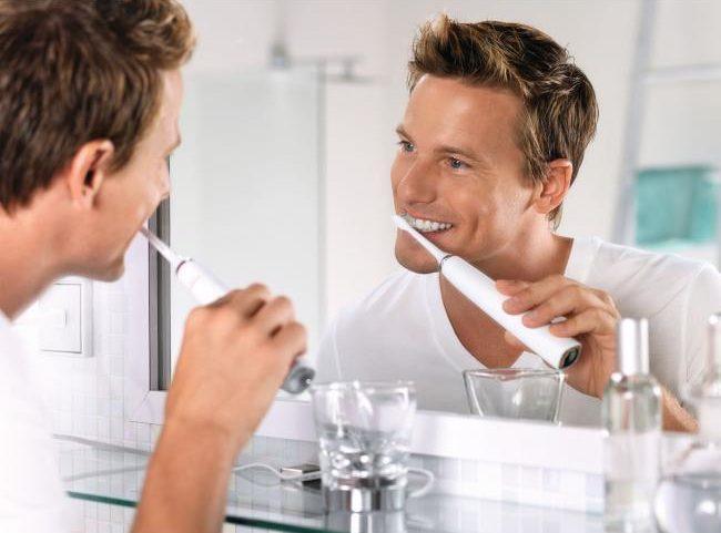 používání zubního kartáčku Philips
