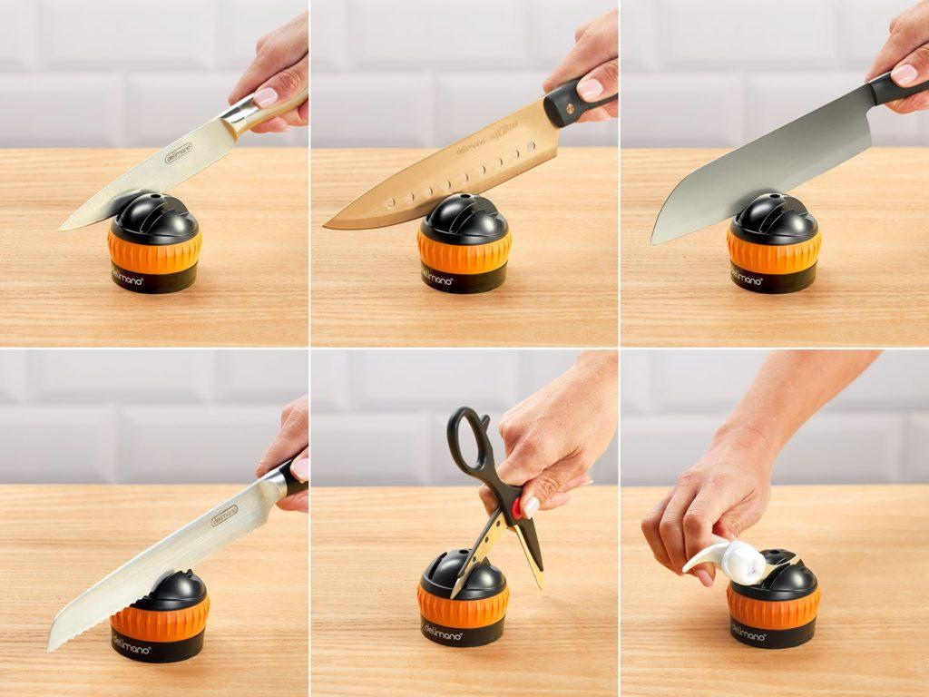 bruska naostří nože, sekáčky, nůžky, čepele mixéru