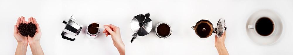 Koťogo moka kávovar - postup