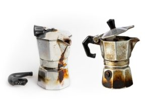 Nejběžnější problémy moka kávovarů