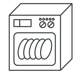 gril - Možnost mytí v myčce