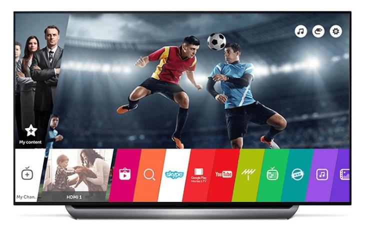 Smart televizory LG (webOS)