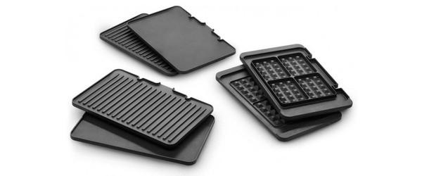 Typy povrchu grilovacích desek