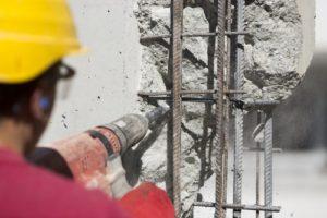 vrtací kladiva na osekávání betonu nepoužívat