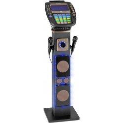 """Auna KaraBig karaoke zařízení Bluetooth LED 7"""" TFT CD USB vestavěný reproduktor"""