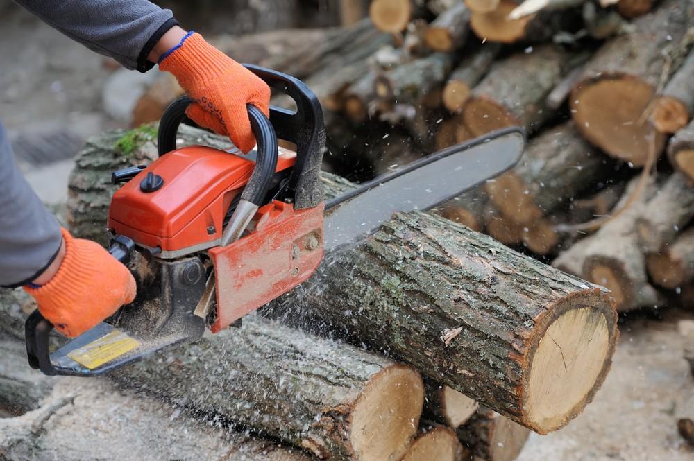 """Poloprofesionální """"farmářské"""" řetězové pily na palivové dřevo"""