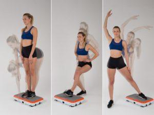 Gymbit Vibroshaper - cvičení 1