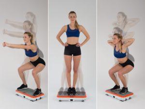 Gymbit Vibroshaper - cvičení 3