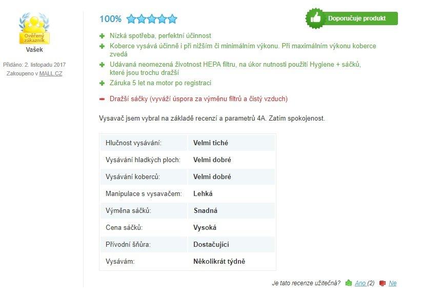 Rowenta Silence Force 4A Compact Animal Care RO6383EA - recenze 1