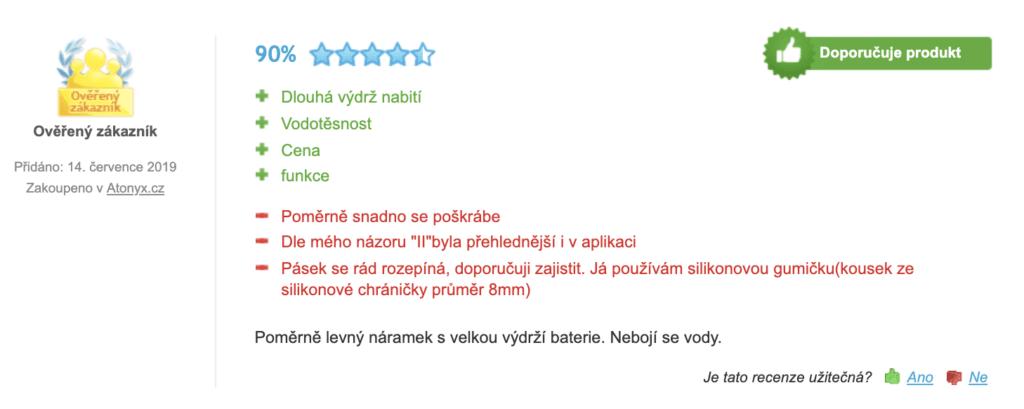 Xiaomi Mi Band 3 - recenze