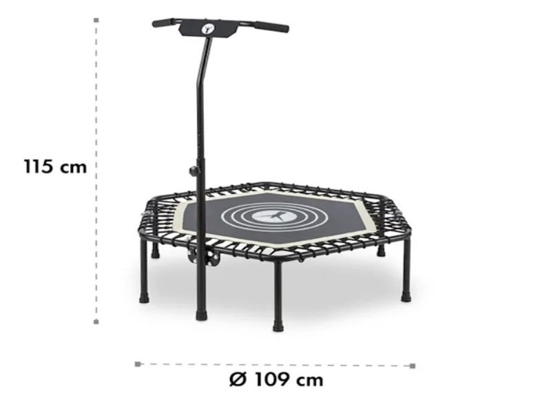 celkové rozměry fitness trampolíny