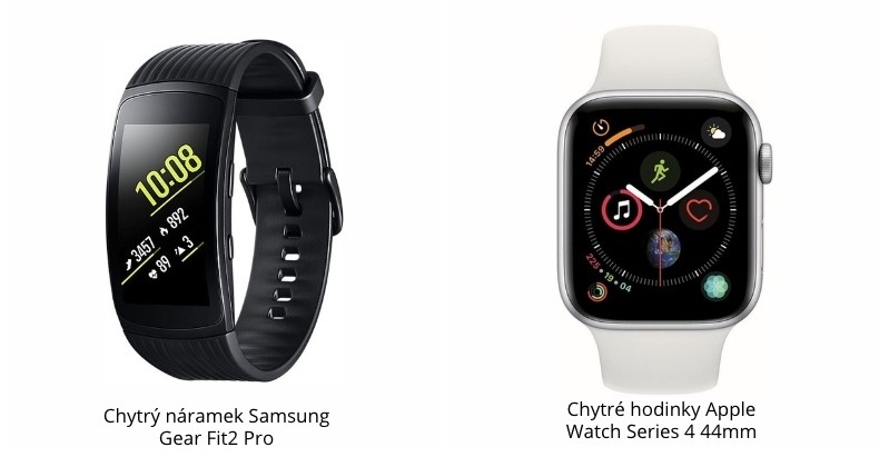 Rozdíl mezi inteligentními hodinkami a fitness náramkem