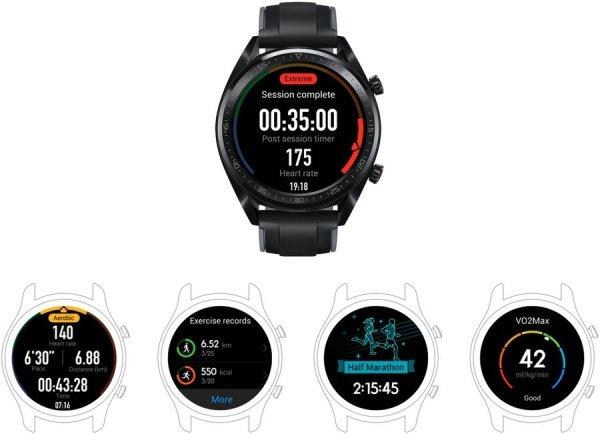 Hodinky Huawei Watch GT jako váš osobní trenér