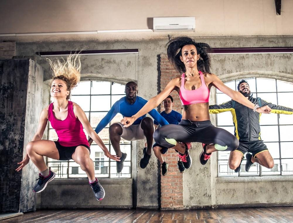 Skákání na trampolíně = zdraví a vitalita