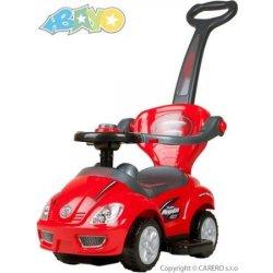 Bayo 3v1 Mega Car červené