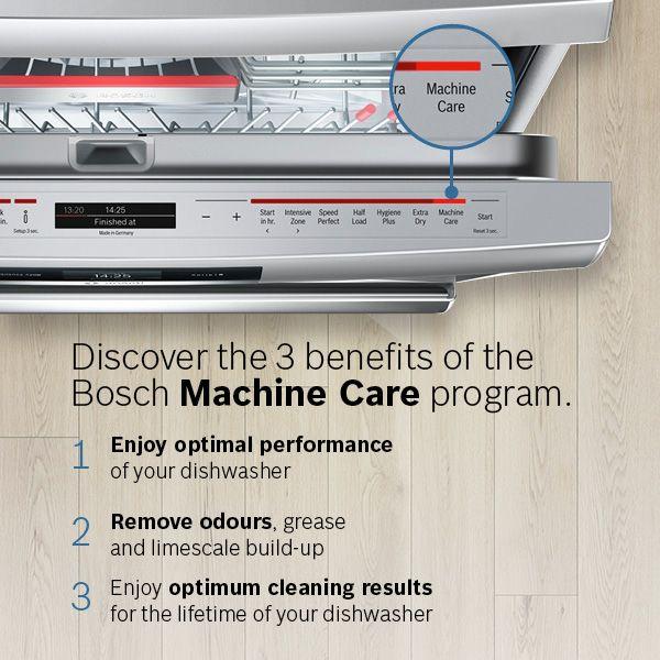 Péče o spotřebič Bosch