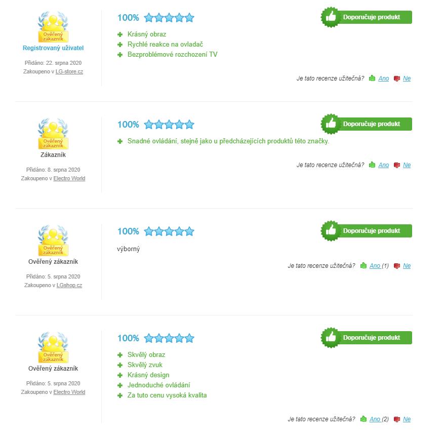 LG 55SM8200 - recenze zákazníků