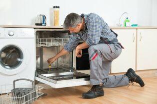 poruchy myček nádobí chybové kódy