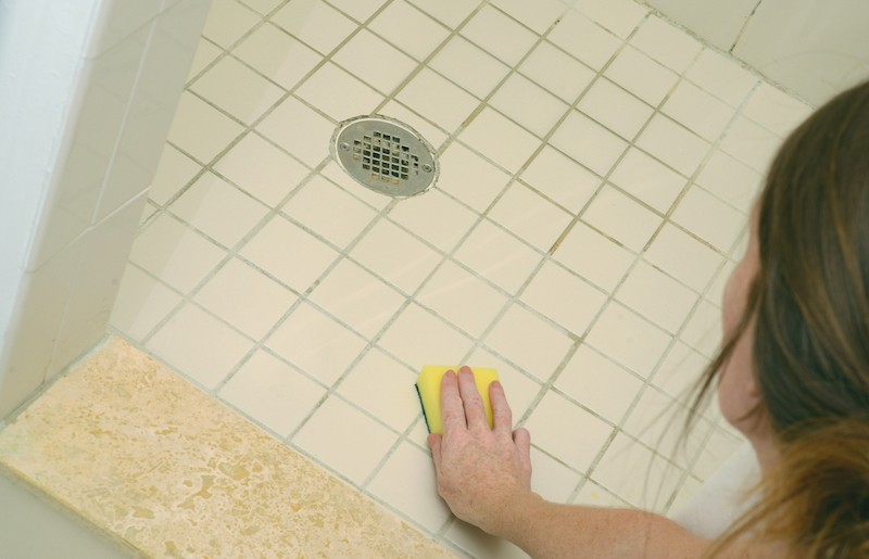 Čištění sprchového koutu