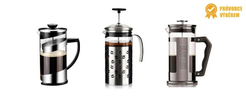 french press kávovary - jak vybrat, rozdelení, vybavení
