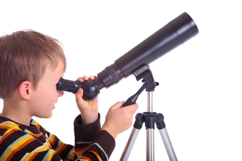 hvězdářský dalekohled pro děti