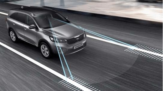 LDWS - Varování před vybočením z jízdního pruhu