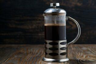 nejlepší káva pomocí french pressu
