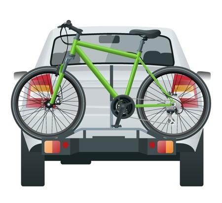 nosič na kolo na zadní dveře