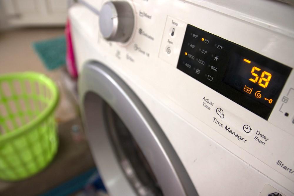 Poruchy pračky a nejčastější chybové kódy