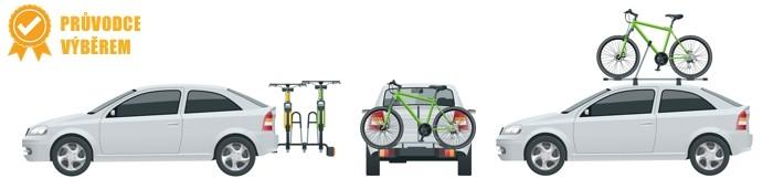 Vybíráme nosič na kolo - na tažné, zadní dveře, střechu