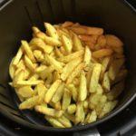 Delimano Air Fryer - připravené hranolky