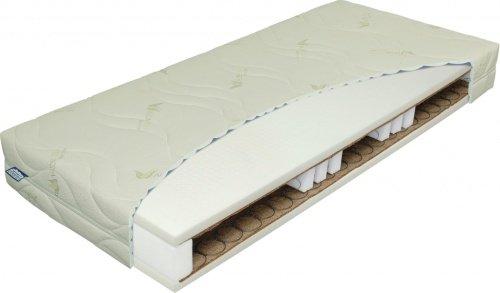 Pružinová matrace Materasso admiral bio hydrolatex