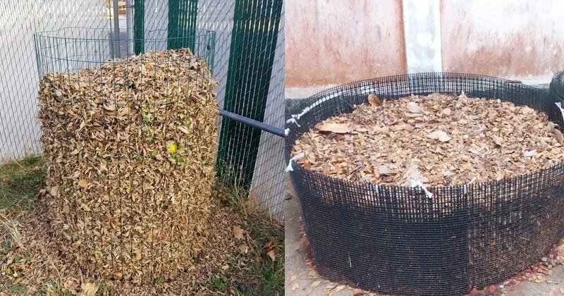 2 pletivové kompostéry
