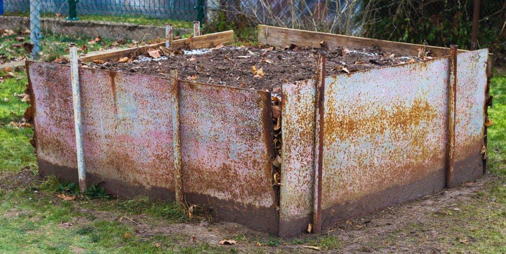Kompostér z plechů