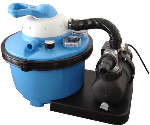 Písková filtrace do nadzemních bazénů