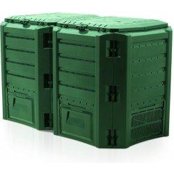 Prosperplast Compogreen 800 l zelená