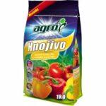 Agro CS Organo minerální hnojivo rajčata a papriky 1 kg