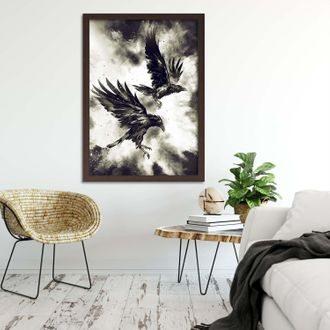 Ekvidistantne umiestnený obraz na stene