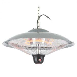 Heizsporn, 60,5 cm (Ø), stropní ohřívač, LED lampa, dálkový ovladač
