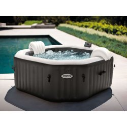 Intex 28458 PureSpa Jet & Bubble Deluxe Octagon
