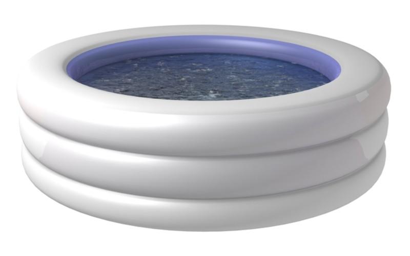 Malý modrý nafukovací dětský bazén