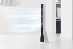 designový moderní sloupový ventilátor