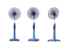 3 stojanové ventilátory