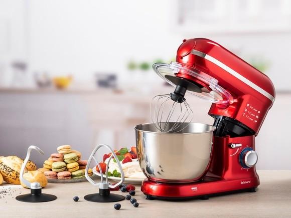 Červený kuchyňský robot Delimano