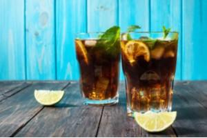 nápoj Cuba libre